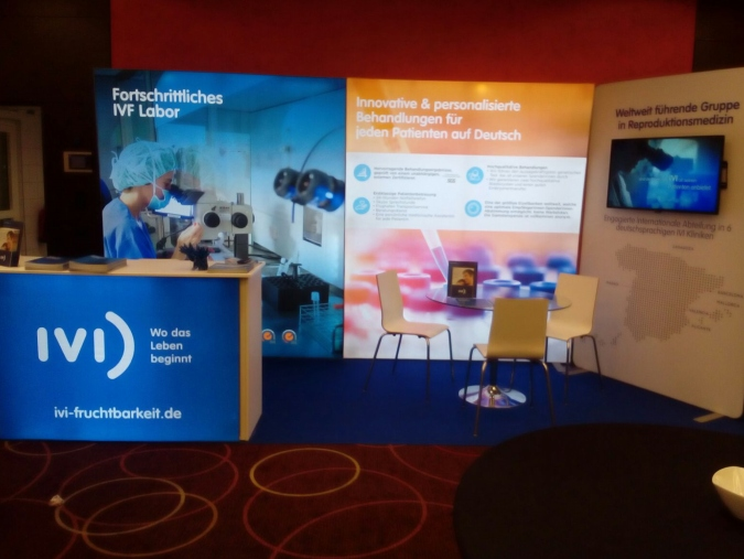 IVi Backlit Exhibition Stand